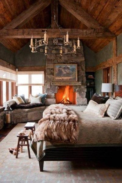 Дом в горах.