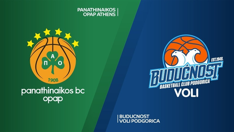 Panathinaikos OPAP Athens - Buducnost VOLI Podgorica Highlights | EuroLeague RS Round 30