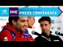 Post-Race Press Conference - 2019 GEOX Rome E-Prix | ABB FIA Formula E Championship