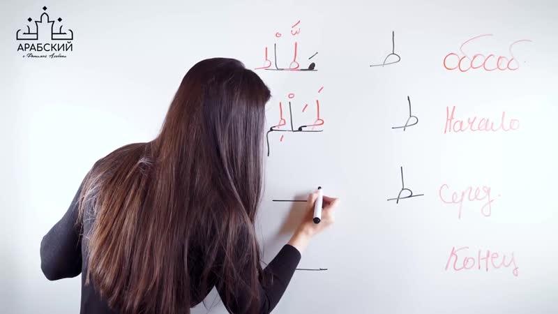 Арабский язык. Урок 9. Буквы таа и заа حرف الطاء و حرف الظاء