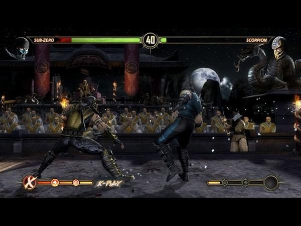Саб-Зиро против Скорпиона. Историческая битва. МК9.