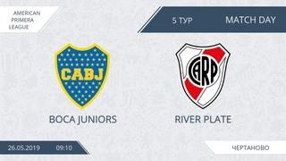 AFL19. America. Primera. Day 8. Boca Juniors - River Plate