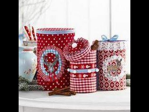 Ideas para reciclar decorando con latas parte I / decorating ideas to recycle cans