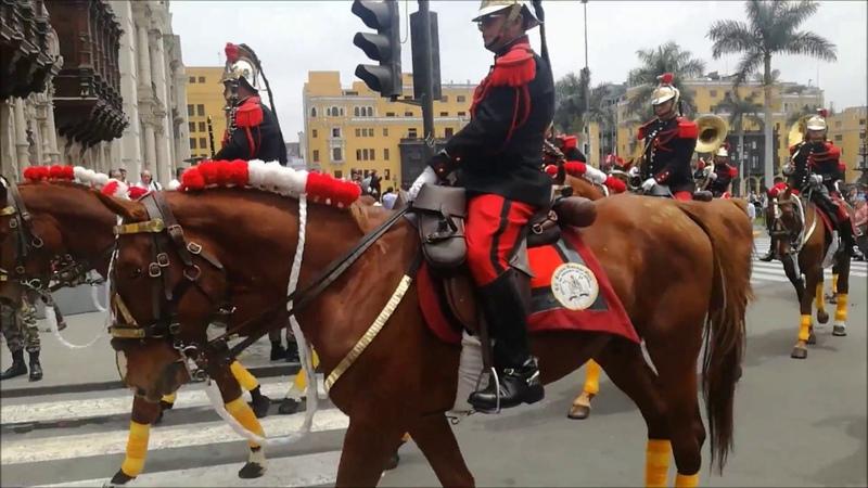 Regimiento de Caballería - Plaza de Armas Lima Peru