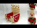 118) Ide kreatif - Pot bunga dari stik es krim || popsicle ideas || Easy popsicle stik craft