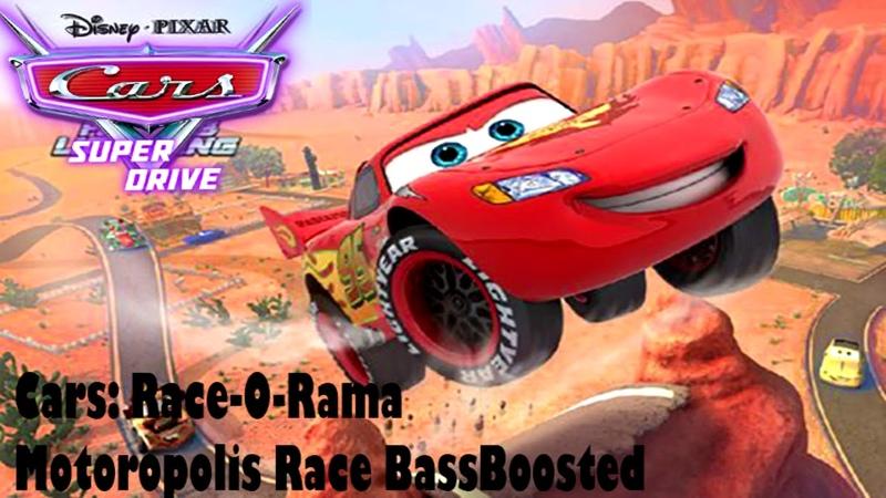 Тачки Race O Rama Моторополис BassBoosted