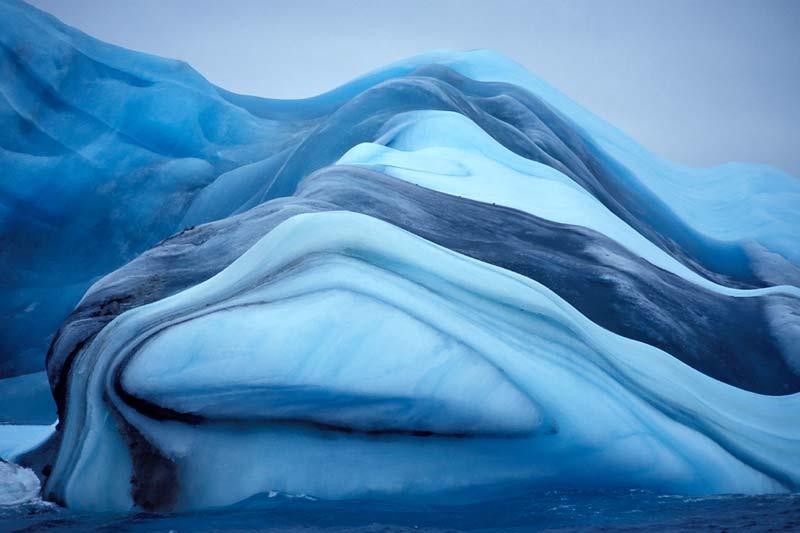 айсберги полосатые