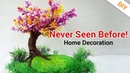 WOW! What an IDEA of DIY Tree Room Decor From Newspaper Handmade Art Home Decoration!