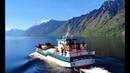 Altai. Телецкое озеро Южный берег. Теплоход Сапфир. Корбу. Lake Teletskoye/Drone video/DJI mavic air