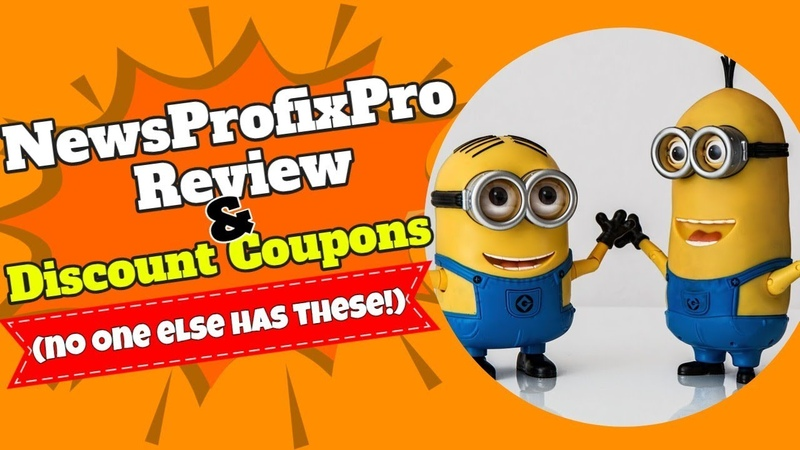 NewsProfixPro Review and Discount Coupons no one else has these!