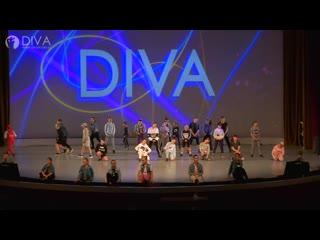 Hip-hop (открытие концерта), хореограф Валерия Комлева - танцевальная школа DIVA Studio