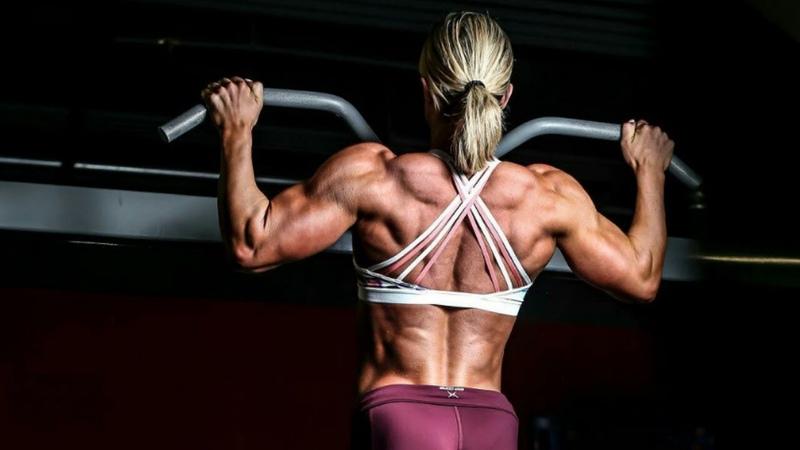 Beast Nicole Wilkins   IFBB Figure Olympia   Back Workout 2018