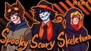 Spooky Scary Skeletons MEME Creepypasta flashlight warning Amino