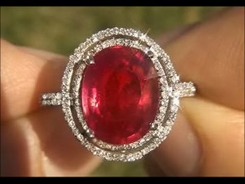 Collectors Item - $68,478 - Pigeon Blood GIA Burma Ruby Auctioned on eBay SEE VIDEO