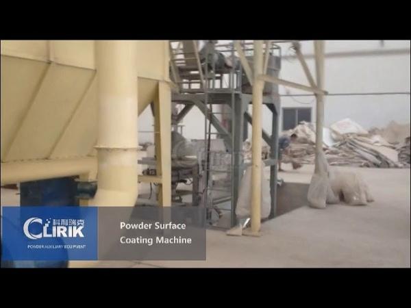 CLG 600 Stearic acid coating machine powder Modification Machine