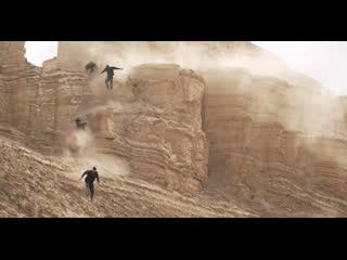 Паркур в пустыне