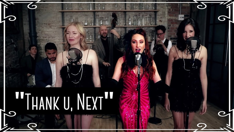 Thank U, Next (Ariana Grande) 1920s Cover by Robyn Adele Anderson