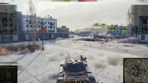 World of Tanks - В Боль Выпуск 74. Поголубевший Т-54 в Затерянном городе
