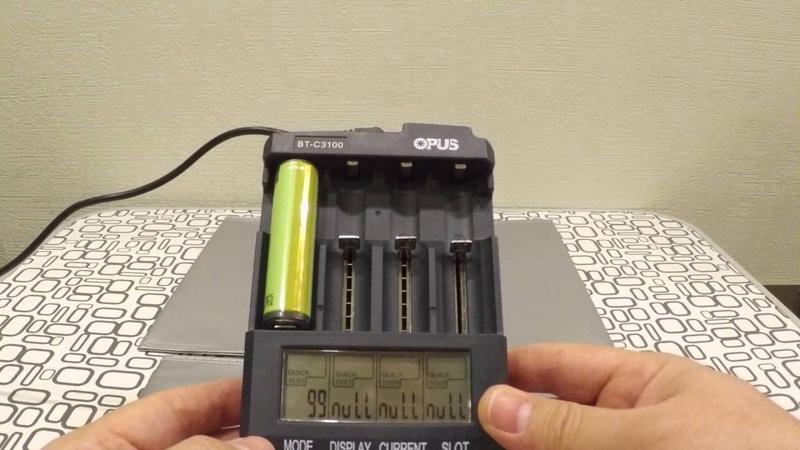 Opus BT - C3100 V2.2 - универсальное зарядное устройство. Честный обзор.