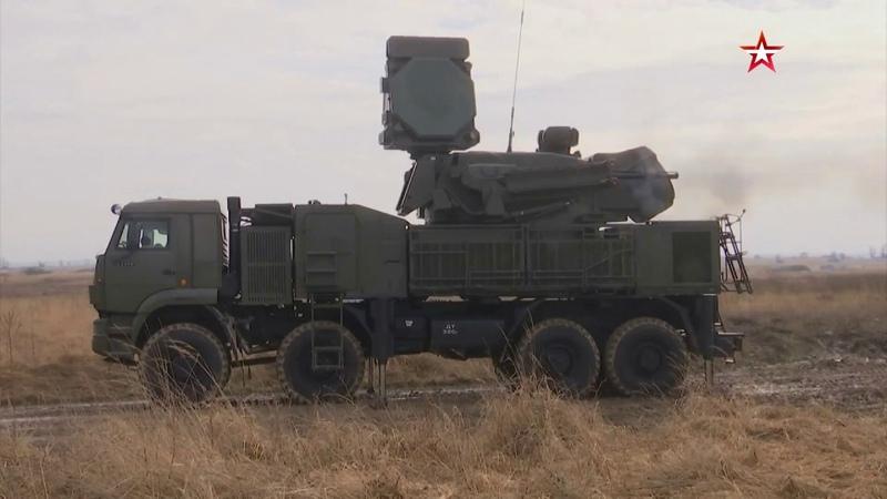 Гром небесный: кадры боевых стрельб комплексов «Панцирь С1» на полигоне Балтфлота