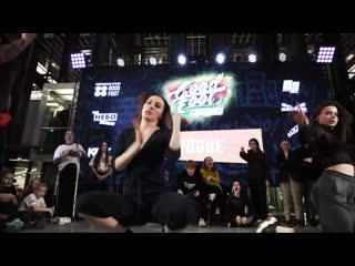 KSENIYA TSUNAMI vs KRISTINA MAFIA - 1-2 VOGUE DANCE - GOOD FOOT BATTLE 2019