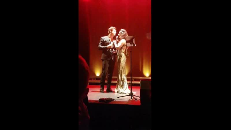 Laurent Ban, Chiara Di Bari - Vivo Per Lei (концерт в Ренне, 08.06.2019)
