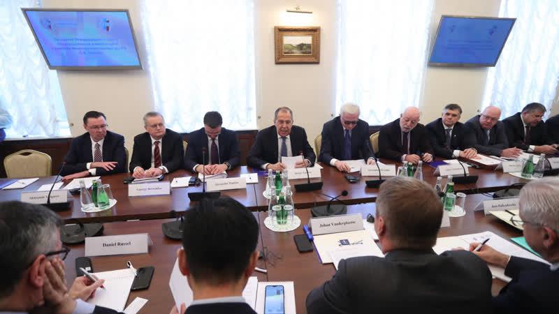 Выступление С.В.Лаврова на заседании Международного совета по сотрудничеству Российского союза промышленников и предпринимателей