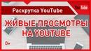 Как набрать живые просмотры на Ютубе. Раскрутка видео через официальную рекламу Не накрутка