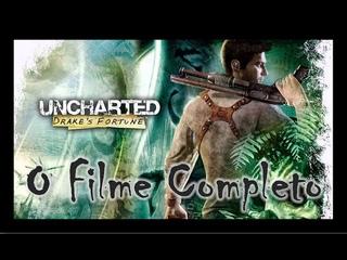 Uncharted: Drake's Fortune - O FILME COMPLETO Dublado PT-BR