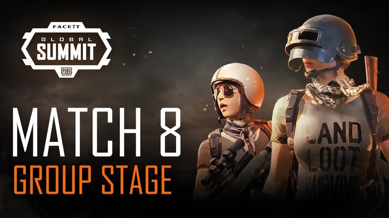 FACEIT Global Summit - Day 2 - Group Stage - Match 8 (PUBG Classic)