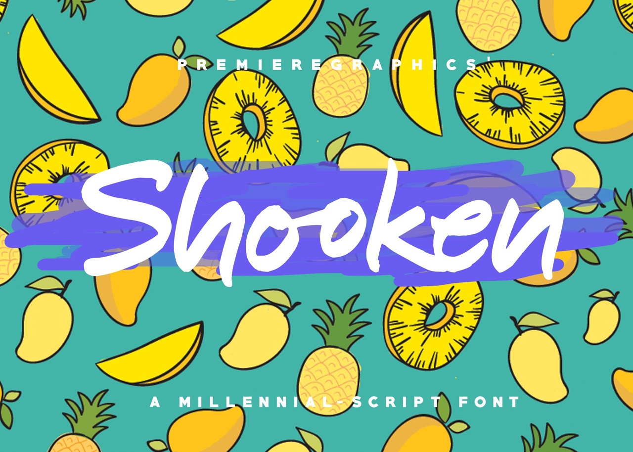 Шрифт - Shooken