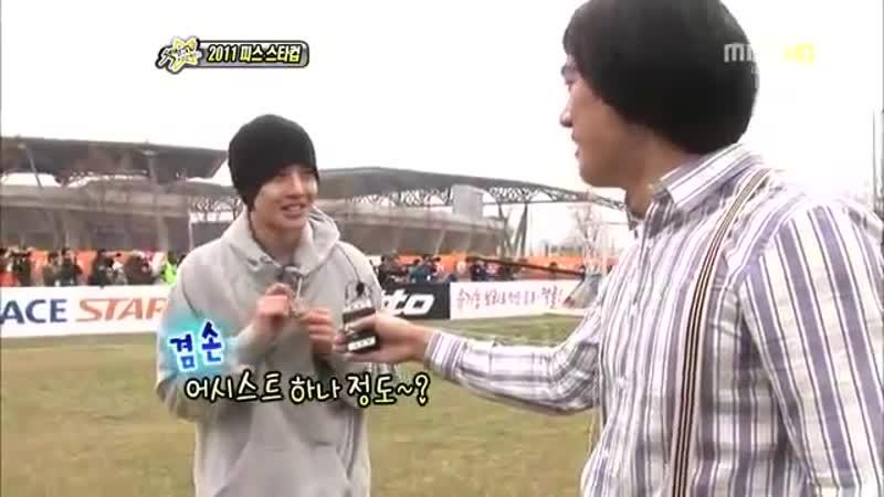 20110417 Kim Hyun Joong @ MBC Section TV