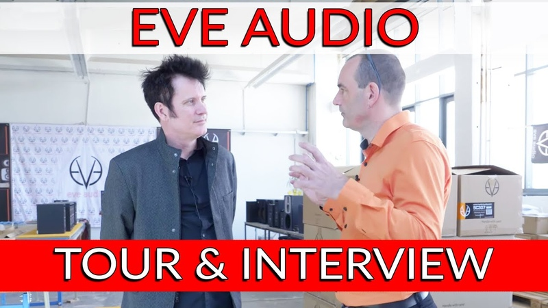 EVE Audio Tour Interview with FounderCEO Roland Stenz - Warren Huart Produce Like A Pro