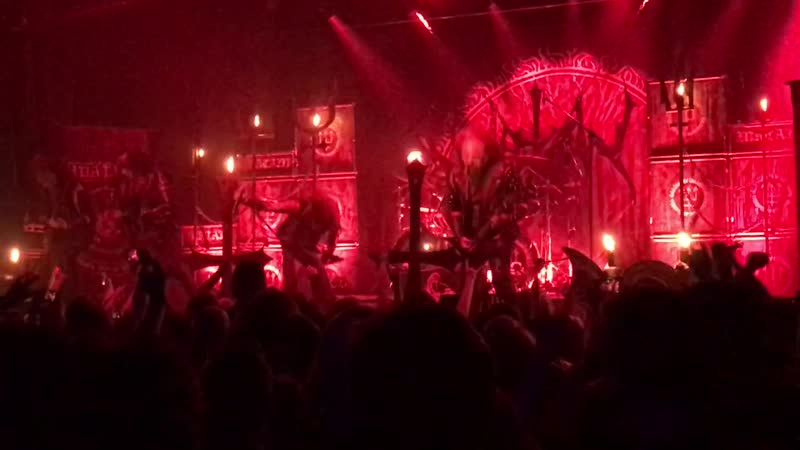 Watain - Agony Fires (Live @ Station Hall | Moscow | 21.04.2019)