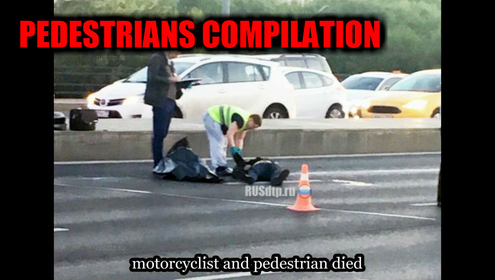 Pedestrians And Others Russian Spectacular Crashes