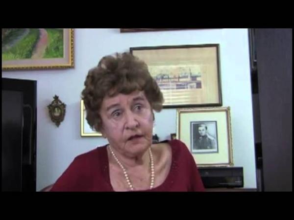 Интервью со вдовой поручика В. В. Гранитова.