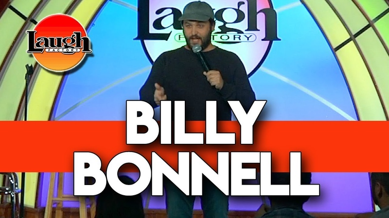 Billy Bonnell Double Cat Dad Laugh Factory Las Vegas Stand Up Comedy