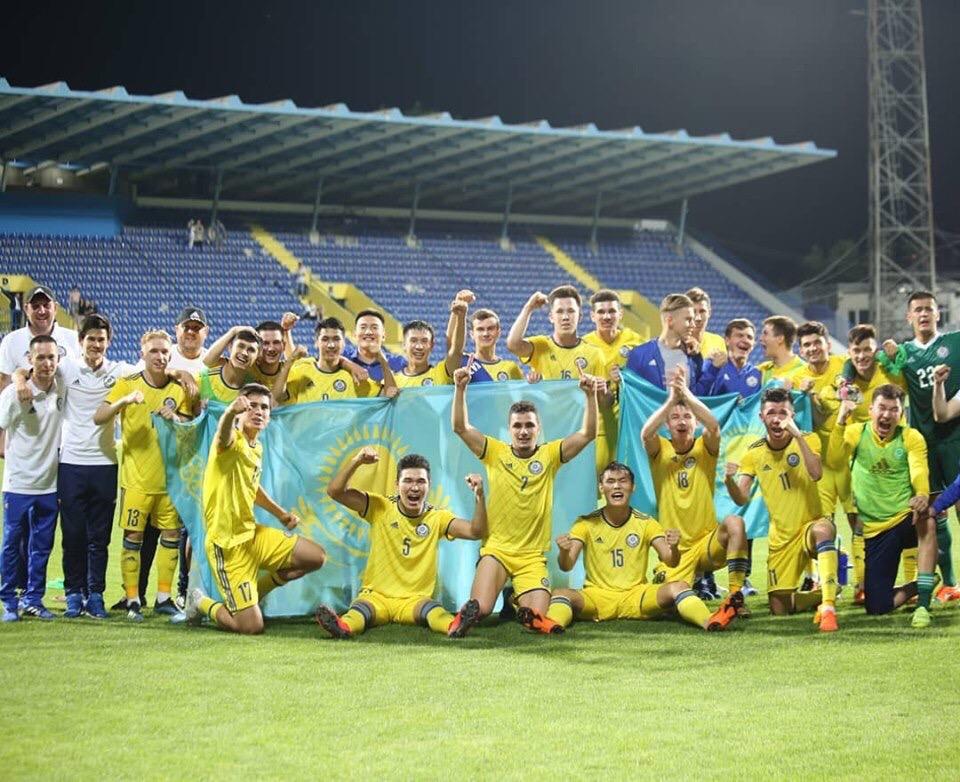 Обзор голов матча Черногория U-21 - Казахстан U-21