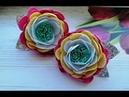 Украшения для волос Цветы из фоамирана Hair jewelry Flowers Tamarana Laço para o cabelo