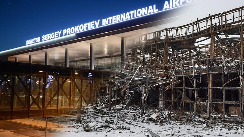 Аэропорт Донецк 26 05 14 фильм Битва за воздух Как начиналась война в Донецке
