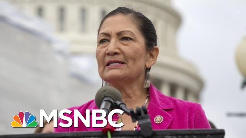 Haaland: As A Native American, I'd Never Tell Anyone To Leave This Country | The 11th Hour | MSNBC