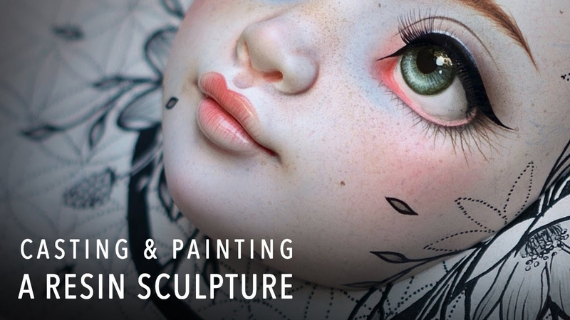 Creating a Hand Cast Resin Sculpture - Bloom