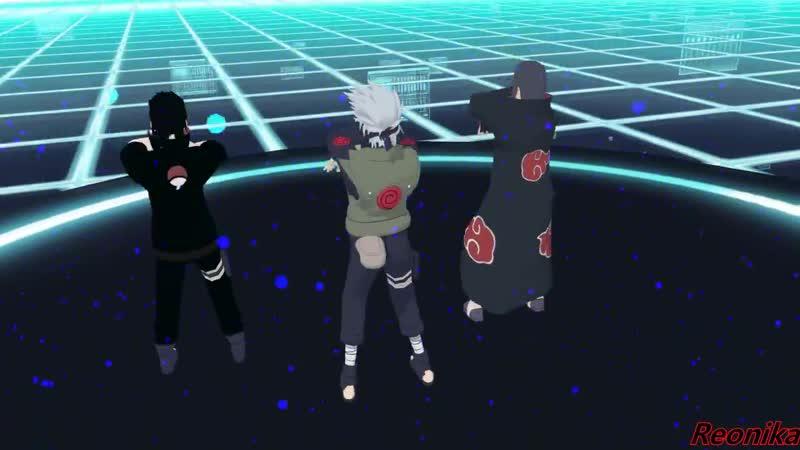 Kakashi Saske Itachi dance
