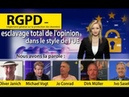 RGPD : esclavage total de l'opinion dans le style de l'UE | kla/12646 | 28.6.18