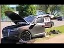 ВДТП на юге Москвы Audi Q7разорвало пополам