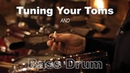 How To Tune Toms and a Bass Drum: Drum Lesson | Stanton Moore