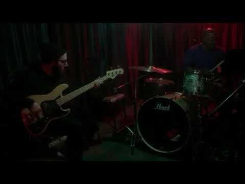 Steve Jenkins bass and Deren Blessman drums a impromptu jam
