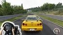 Assetto Corsa - Nissan Skyline GTR R34 V-Spec (w/ Steering Wheel) Gameplay
