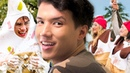 Human Ice Cream Sundae w/ Hayes Grier Aaron Burriss The Carpe Challenge Miami