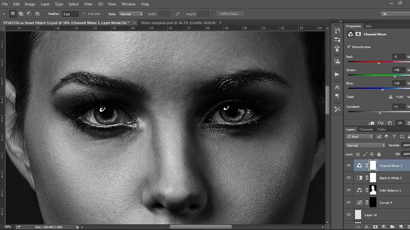 Beauty Retouching - photoshop cc